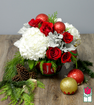 beretania florist christmas flower, plants, and gifts delivery in honolulu hawaii festive ornament