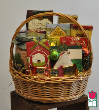 The BF Gourmet Gift Basket - Snacks Large