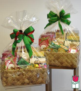 Gift Basket - Gourmet Snacks Set of 2