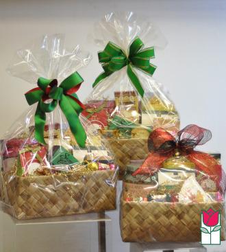 Gift Basket - Gourmet Snacks Set of 3 Small