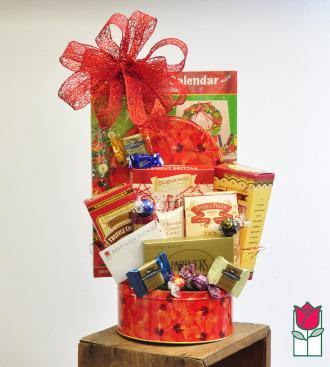 Beretania Florist Gourmet Gift Basket delivery in honolulu hi