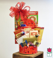 Beretania Florist Gourmet Gift Basket delivery in honolulu hi