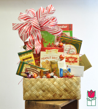 beretania florist christmas gift basket delivery in honolulu