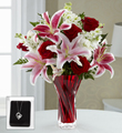 The FTD� Anniversary Bouquet with Heart Pendant