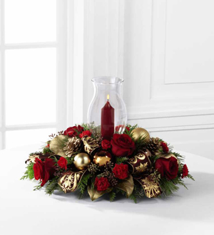 The FTD® Lights of the Season ™Centerpiece