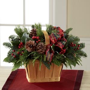 The FTD® Christmas Coziness™ Basket