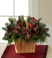 The FTD® Christmas Coziness™ Basket