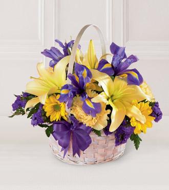 The FTD® Spirit of Spring™ Basket