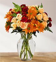 The FTD® Autumn Gold Bouquet