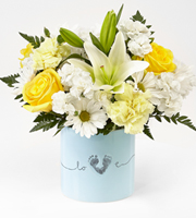 The FTD� Tiny Miracle� New Baby Boy Bouquet