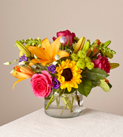 The FTD® Happy Birthday Bouquet by Lisa Dees flower shops in raleigh nc