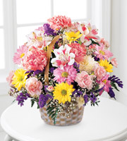 FTD® Bouquet Basket Of Cheer™