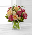 Le Bouquet FTD® All Glow™ de Better Homes and Gardens®- VASE INLCUS