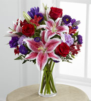 The FTD® Stunning Beauty™ Bouquet by Lisa Dees florists in raleigh nc