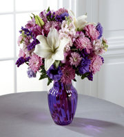 The FTD� Shades of Purple� Bouquet