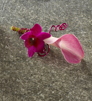 The FTD® First Blush™ Boutonniere