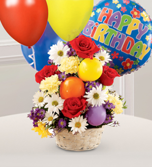 The FTD® Birthday Cheer™ Basket