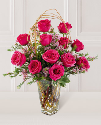 The FTD® Blazing Beauty™ Rose Bouquet