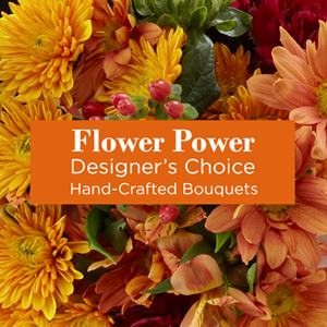Florist Designed Fall Arrangement
