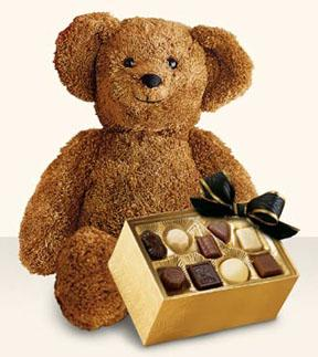 Bear with Chocolates