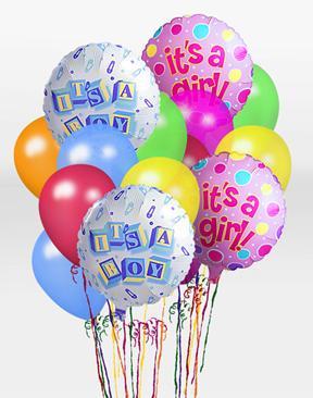 It\'s A Boy Balloon Bunch