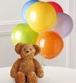 Bouquet de ballons avec ourson