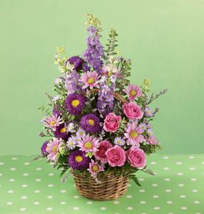 Blossoming Abundance Basket