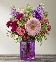The FTD® Purple Prose™ Bouquet by Better Homes and Gardens®