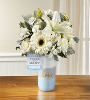 The FTD� Sweet Baby Boy� Bouquet by Hallmark
