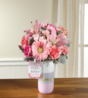 The FTD� Sweet Baby Girl� Bouquet by Hallmark