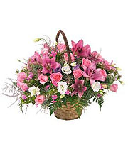 Arrangement in Pink
