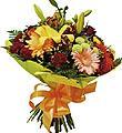 Bouquet de fleurs coupées mélangées