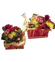 Cadeaux de Lune de Miel avec Fleurs