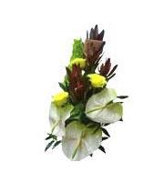 Bouquet de fleurs saisonnières