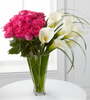 Irresistible Luxury Rose & Calla Lily Bouquet