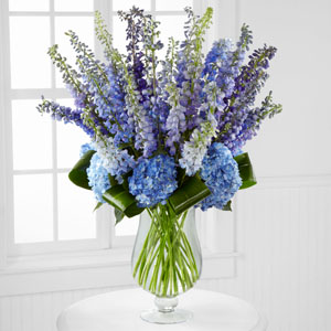 Honestly Luxury Delphinium & Hydrangea Bouquet