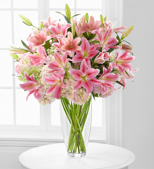 Intrigue Luxury Lily & Hydrangea Bouquet