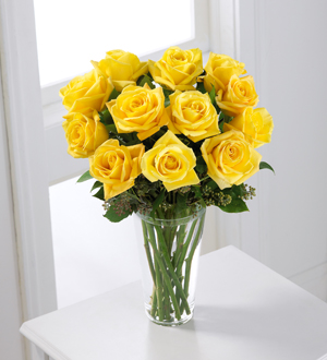 Order yellow roses for an anniversary, birthday or any occasion with your local flower delivery specialists in  Grand Rapids, Sunnyslope Floral