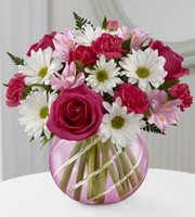 The FTD® Perfect Blooms™ Bouquet - 13 Stems - VASE INCLUDED