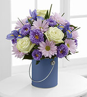 The FTD® Color Your Day With Joy™ Bouquet by Lisa Dees flower delivery raleigh nc