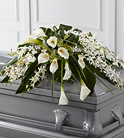 The FTD® Angel Wings™ Casket Spray