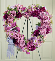 The FTD� Heartfelt Sympathies� Wreath