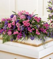 The FTD® Blanket of Flowers™ Casket Spray