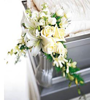 The FTD® Elegant Remembrance™ Casket Adornment
