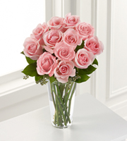 The FTD® Pink Rose Bouquet - Cleveland Ohio