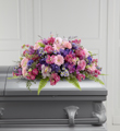 The FTD� Glorious Garden� Casket Spray