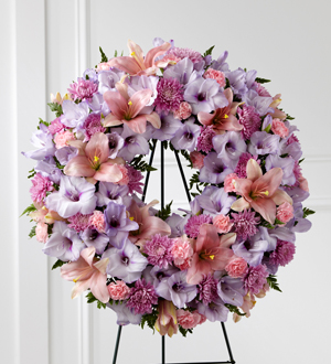 The FTD® Sleep in Peace™ Wreath