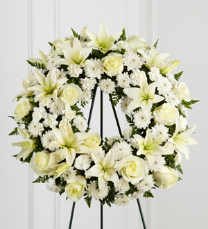 The FTD� Treasured Tribute� Wreath