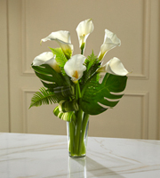The FTD® Always Adored™ Calla Lily Bouquet