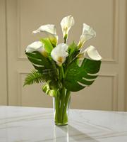 Le bouquet de lys Calla Adoration profondeMC de FTD®